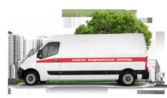 Мониторинг транспорта скорой помощи, полиции, газовой службы и прочих экстренных служб